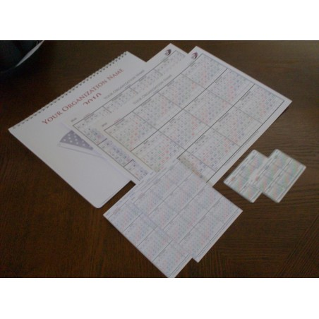 Single Sheet Package plus Wall Calendar