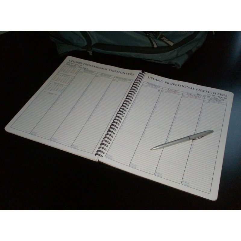 image relating to Large Daily Planner called Substantial Thirty day period 7 days Combo Working day Planner (8.5 x 11)